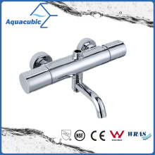 Round Bar Mixer Shower Set Thermostatic Valve with Spout for Bathtub (AF7366-7)