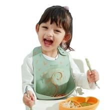 Custom Silicone Baby Bib Waterproof Wholesale Toddlers