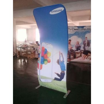 4x8FT Cobra Tension Fabric Display Stand Banner