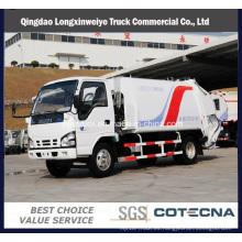 Dongfeng marca 10cbm camión de basura basura compactador vehículo camión