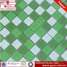 дешевые модели стеклянная мозаика для плавательный бассейн плитки, сделанные в Китае