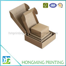 Folding Design Corrugated Cardboard Soap Packaging Box