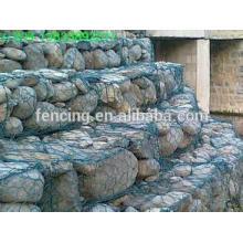 Vendas quentes de pedra Gaiola Gabião / Parede Gabião