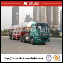 Gas Tank remorque, transport citerne gaz en livraison sûre