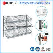 Wholesale DIY Metal Wire Bakery Display Rack Shelf Factory