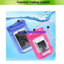 Bolso impermeable universal respetuoso del medio ambiente del teléfono móvil del PVC