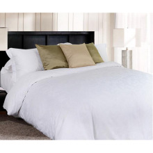 New Collection Bed Modern Style Bed Plain White Hotel/Home Bedding Linen (WS-2016229)