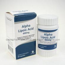 Cápsulas de Ácido Alfa-Lipoico Anti-Age