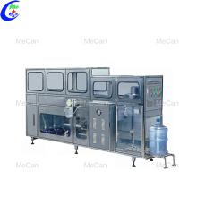 Línea automática de llenado de jarras de agua con cubeta de 5 galones