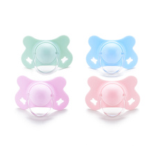 newborn baby products silicone baby pacifier butterfly shape
