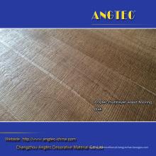 Revestimento de madeira projetado natural lubrificado UV do carvalho branco