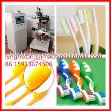 Fabricante vertical da máquina da fatura da escova de dentes de 2 eixos