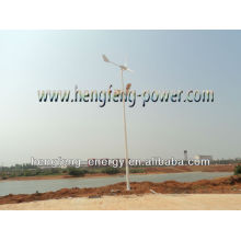 600W solar & híbrido vento luz LED rua