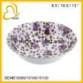 factory direct sale wholesale big size plastic melamine bowl set