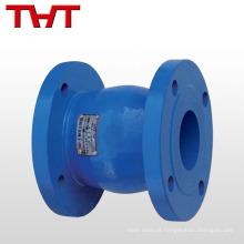flapper silencioso válvula de retenção de 6 polegadas com mola carregada