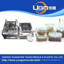 Zhejiang taizhou huangyan moules à contenants alimentaires et 2013 La nouvelle boîte à outils en plastique pour injection en injection mouldyougo mold