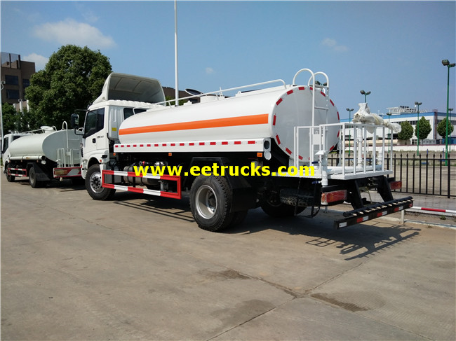 7500 Litres Spray Water Tanker Trucks
