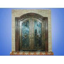 Iron Front Door for Home Decor