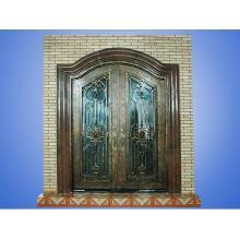 Железная входная дверь для домашнего декора