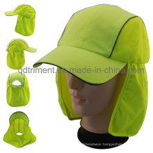100% Polyester Microfilber Outdoor Protective Work Cap (TMW0739)