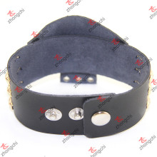 Chine Factory Custom Any Design Bracelet en cuir en gros (LB15120405)