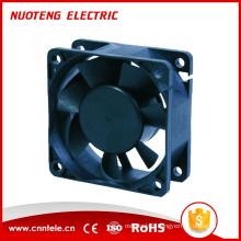 Ventilateur 12V 24V DC, ventilateur sans balai DC, ventilateur de refroidissement par air 60X60X25