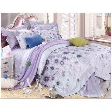 100% Bambus bedruckte Bettbezug Set # Zt-1105