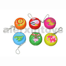 Yo-Yo en bois (6design/Set)