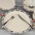 Modern Unique Restaurant Stoneware Dinnerware