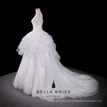 China-Guangzhou-Hochzeitskleid 2017 Luxuxbrautkleid-Qualitätsprinzessin-Hochzeitskleid-Kleid