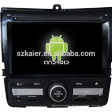 Android 4.4 Miroir-lien Glonass / GPS 1080P dual core voiture multimédia central pour Honda Fit / Jazz avec GPS / Bluetooth / TV / 3G