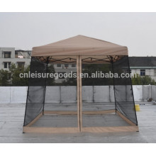 Outdoor folding garden gazebo with mosquito netting