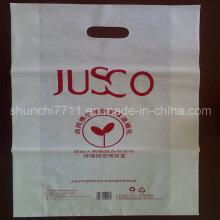 Milky White Einkaufstasche (28 * 45cm * 40um)