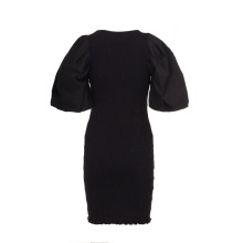 Spring 2021 New Arrival Casual Office Ladies Plus Size Dresses With Classic Sleeve