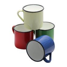 Fabrication personnalisée 6/7/8/9/10/11 / 12mm émail thé tasse à café tasse