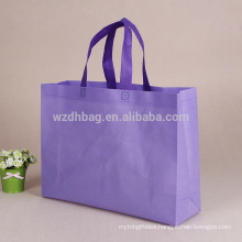 Promotional Customized Blank Lamination PP Non Woven Shopping Tote Bag In Stock
