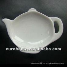 Suministros de Hotel Ceramica Placas de bolsitas de té P0557