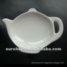 Hotel & Banquet tableware porcelain tea bag plates