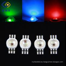 PRODUCTO EN VENTA CALIENTE El poder más elevado llevó 6 pernos RGB 3W LED para la luz de destello