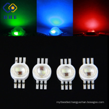 Shenzhen Supplier 700mA Eplieds Chip 3w 6 pin RGB High Power Led for Wall Lights