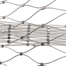 stainless steel wire rope mesh used in zoo fence