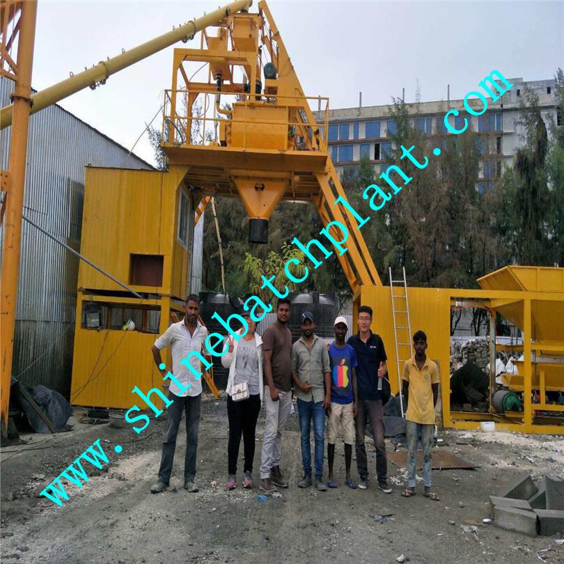 25 Portable Concrete Batching Plant