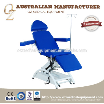 Medical Adjustable Patient Transfusion Chair Donation Couch