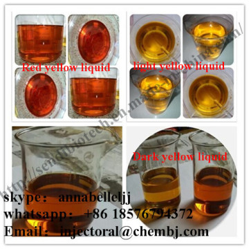 Powderful Injectable Tren Steroids Trenbolone Acetate 100mg / Ml para Mass Growthing