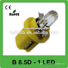 Wholesale led B8.5D light, auto led dash led bulb