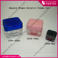 Small Acrylic Lipstic Cosmetic Container
