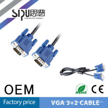 SIPU qualitativ hochwertige VGA-3 + 2 super 15 m Vga Kabel Schrauben
