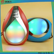 Orador sem fio personalizado de Bluetooth do diodo emissor de luz da forma de Waterdrop da forma do logotipo