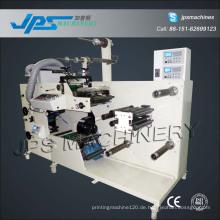 Klebeaufkleber Etikettendruckmaschine mit Stanz- und Schlitzfunktion