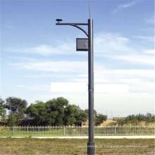 Road Street Light Pole Price Camera Pole com dobradiça leve